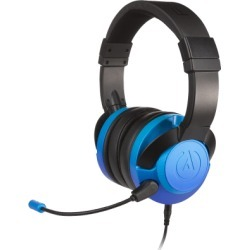 The PowerA FUSION Wired Gaming Headset Sapphire Fade for PlayStation 4