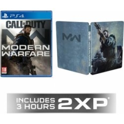 Call of Duty Modern Warfare + GAME Exclusive Steelbook for PlayStation 4