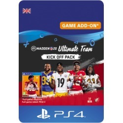 Madden NFL 20 Ultimate Team Kick Off Pack for PlayStation 4