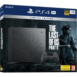 PlayStation 4 Pro 1TB Limited Edition The Last of Us Part II Bundle for PlayStation 4