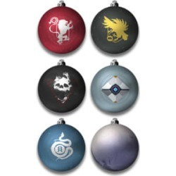 Destiny 2 Christmas Bauble Set for Clothing and Merchandise
