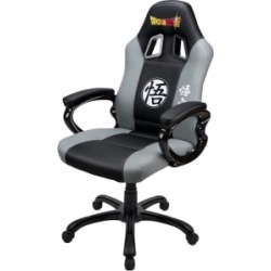 Dragon Ball Z Super Gaming Seat (Black & Grey) for Multi Format and Universal