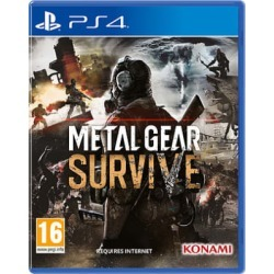 Metal Gear Survive for PlayStation 4 - also available on Xbox One found on Bargain Bro UK from game UK