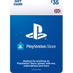£35 PlayStation Network Wallet Top Up for PlayStation 3