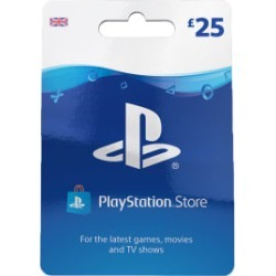 £25 PlayStation Network Wallet Top Up for PlayStation 3
