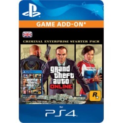 Grand Theft Auto V: Criminal Enterprise Starter Pack for PlayStation 4