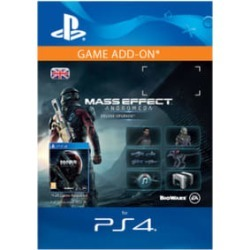 Mass Effect: Andromeda Deluxe Upgrade for PlayStation 4