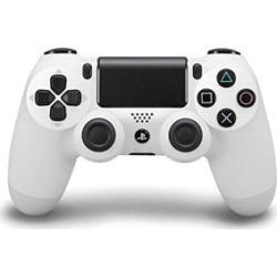 PS4 DUALSHOCK 4 Controller - Pristine Condition (White) for PlayStation 4