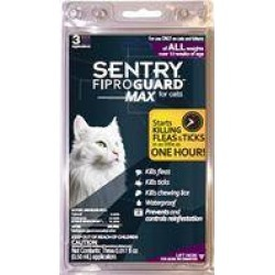 Sentry Fiproguard Max for Cats