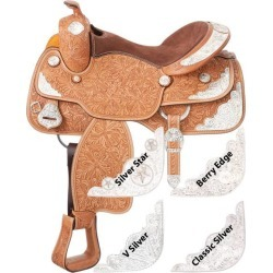 Silver Royal Rio Grande Silver Show V Silver Trim Saddle Package found on Bargain Bro Philippines from horseloverz.com for $1067.95