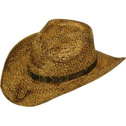 Twister Branded Roped Band Straw Hat