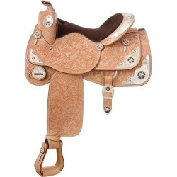 Silver Royal Black Inlay Star Show Saddle found on Bargain Bro Philippines from horseloverz.com for $1618.99