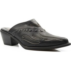 Roper Ladies Beth Faux Leather Mule - Black found on Bargain Bro India from horseloverz.com for $46.99