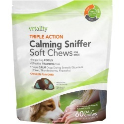 Triple Action Calming Sniffer Chews For Dogs
