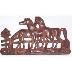 Horse Fare Horse Family Key Holder