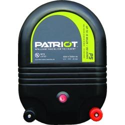 Patriot P5 Dual Purpose Fence Energizer - 12 V DC/110 V AC