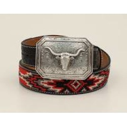 Ariat Mens Southwest Longhorn Belt And Buckle found on Bargain Bro India from horseloverz.com for $44.95