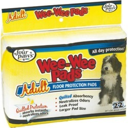 Wee Wee Pads Adult Dog