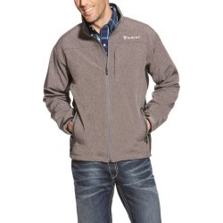 Ariat Mens Vernon Softshell Jacket - Charcoal Heather found on Bargain Bro India from horseloverz.com for $58.39