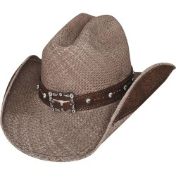 Bullhide Way Of Life Western Straw Hat