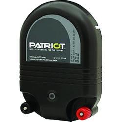 Patriot P20 Dual Purpose Fence Energizer - 12 V DC/110 V AC