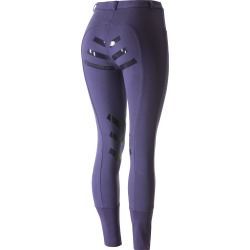 Horze Iris Knitted Silicone Full Seat Women's Breeches found on Bargain Bro India from horseloverz.com for $31.49
