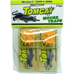 TOMCAT Wooden Mouse Trap