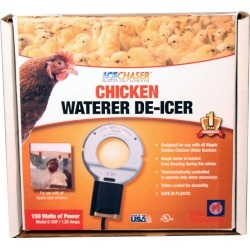 Farm Innovators Chicken Waterer Deicer For Nipple-Style Drinkers