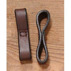 EquiRoyal Leather Bit Loops