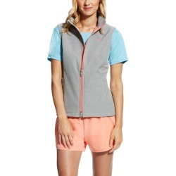 Ariat Ladies Endeavor Softshell Vest - Light Grey Heather found on Bargain Bro India from horseloverz.com for $44.99