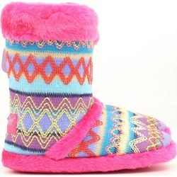 Blazin Roxx Youth Knit Print Boot Slipper found on Bargain Bro India from horseloverz.com for $8.13