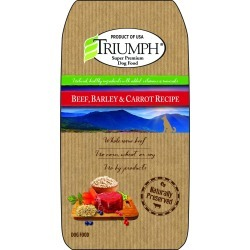 Triumph Beef, Barley, and Carrot Dog Food