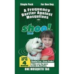 Shoo Tag Dog Mosquito