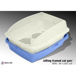 Sifting Cat Litter Pan With Frame
