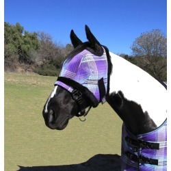 Kensington Protective Fly Mask with  Fleece - Miniature found on Bargain Bro India from horseloverz.com for $22.85
