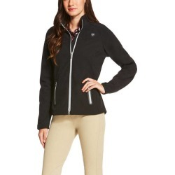 Ariat Ladies Vivid Softshell Jacket - Black found on Bargain Bro India from horseloverz.com for $52.49