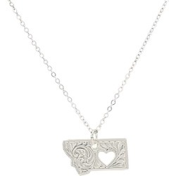 Montana Silversmiths I Heart Montana Necklace