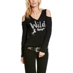 Ariat Ladies Wild Horses Tee