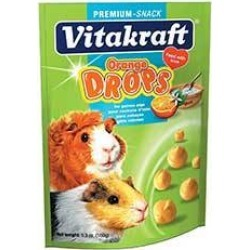 Orange Drop Treats For Guinea Pigs