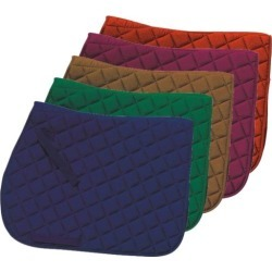 GATSBY Square Quilted Saddle Pad found on Bargain Bro India from horseloverz.com for $20.99