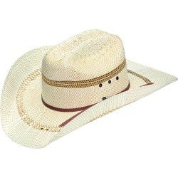 Ariat Mens Bangora Straw Hat with Two Cord Band found on Bargain Bro India from horseloverz.com for $26.10