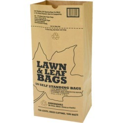Lawn and Leaf Paper Bag