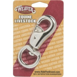 Weaver Leather Nickel Plated Snap Bull found on Bargain Bro India from horseloverz.com for $3.19