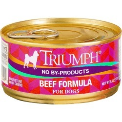 Triumph Canned Dog Food - Beef