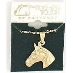 Finishing Touch Horse Head Necklace found on Bargain Bro India from horseloverz.com for $17.49