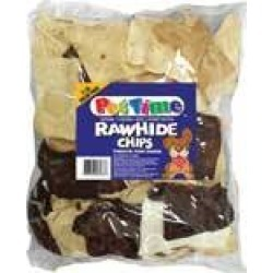 Rawhide Basted Chips Treats For Dogs