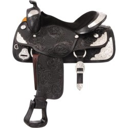 Silver Royal Youth Challenger Silver Show Saddle - Berry Edge Trim found on Bargain Bro Philippines from horseloverz.com for $750.99