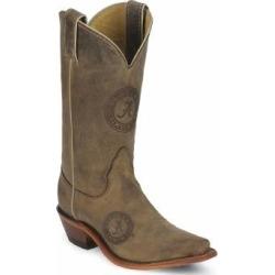 Nocona Boots Ladies Alabama Cowhide Branded Cowboy Boots