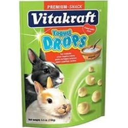 Yogurt Drop Treats For Rabbits
