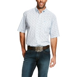 Ariat Mens Eckleman Stretch Print Shirt found on Bargain Bro India from horseloverz.com for $21.89